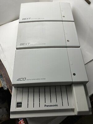 Panasonic KX-TD1232 Digital Super Hybrid Telephone System w/ 2x 8EXT & 4CO