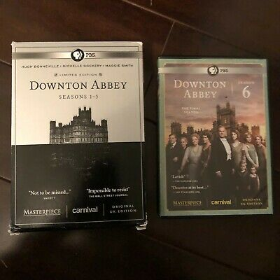 Masterpiece: Downton Abbey: Seasons 1-6 (DVD, 2016, Limited Edition)