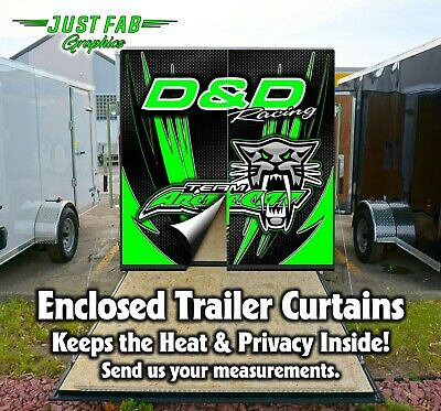 Arctic Cat Enclosed Trailer Rear Door Yamaha Kawasaki CanAm KTM, Husqvarna