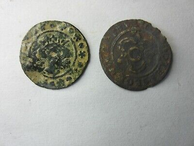 Medieval Jettons Edward Kings Head Hans Winckel: Winchester Detecting Find