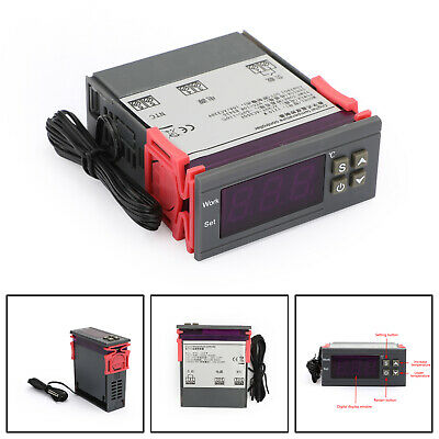 10A Digitale Temperatura Controller Termostato 90~250V 110-220V MH1210W IT