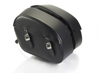 Genuine Triumph Motorcycle Thunderbird Commander Leather Saddlebags  A9518036