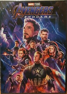 Avengers: Endgame (DVD 2019) The fourth installment of the Avengers movies!