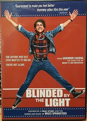 Blinded By The Light (DVD 2019) Bruce Springsteen music!