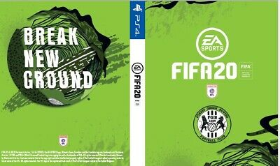 Fifa 20 Game PS4 Custom Forest Green Rovers Cover for Playstation 4 Sleeve Outer