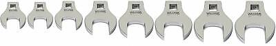 "Williams 10790,  8 Piece 3/8"" Drive Crowfoot Wrench Set 9 To 16mm"
