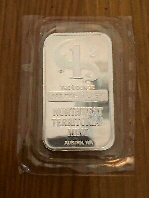 Pure Solid Silver 1 Ounce ingot