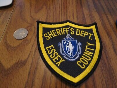 Essex County New Jersey Sheriff's Dept Police Patch