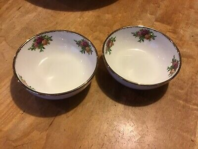 2Royal Albert Old Country Roses Finger  Bowls