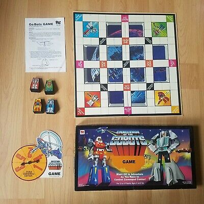 Near Complete Challenge Of The Gobots Board Game 1985 - Pic Toys LTD Spares