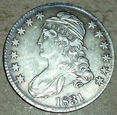 1831 Silver Capped Bust Half Dollar