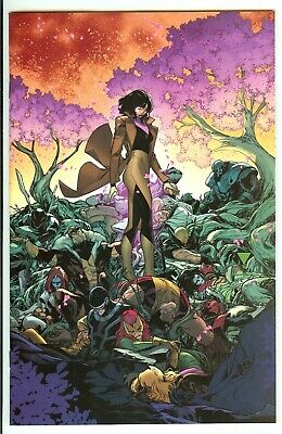 Powers of X #6 (of 6) Marvel 2019 Silva Virgin Variant 1:100 Comic 9.2