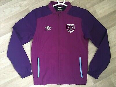 WEST HAM UTD Woven UMBRO Football Training Jacket 2019/20 Junior (YM) BNWOT
