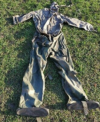 Protective Suit L-1 Chemical Waterproof Soviet Russian Army VDV Airborne USSR