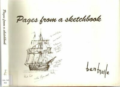Ben Maile / PAGES FROM SKETCHBOOK COLLECTION OF PREPARATORY SKETCHES Signed 1st