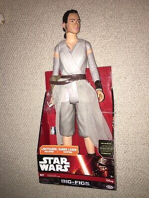 STAR WARS REY Big-FIGURE with LIGHTSABER  18 inch by Jacks Pacific New