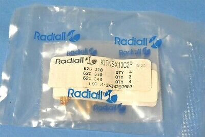 11 Radiall 620310 620330 620340 Pins ARINC 600 Contact Connector KIT-NSX13C2P