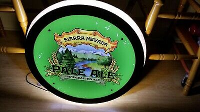 Sierra Nevada Hand Crafted Ale - Beer Sign Light LED - Very Bright!!