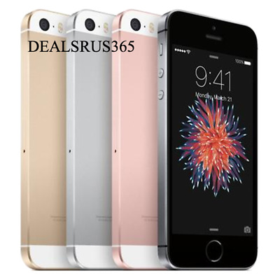 Apple iPhone SE 32GB Space Gray Unlocked Great Condition