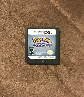 Pokemon Soul Silver Version Nintendo DS ~ Works Great! ~ Fast Shipping! ~ LQQK
