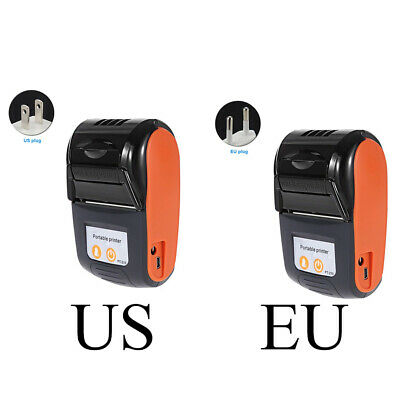 58MM Bluetooth Thermal Printer Portable POS Receipt Machine for PC Android iOS