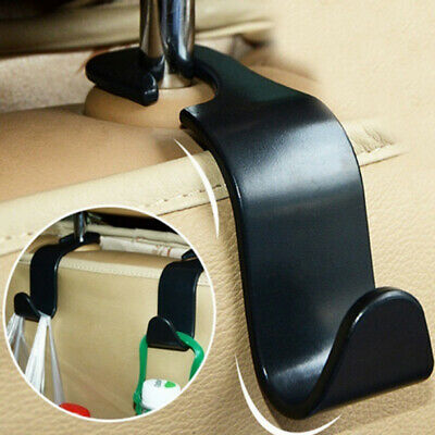 Vehicle Universal Car Seat Back Headrest Hooks Hanger Storage Organizer Holder