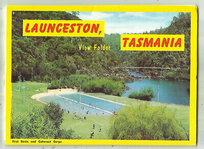 Australia Postcard View Folder - Launceston, Tasmania, Australia - 1960's?