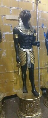 Egyptian Horus Falcon God of Divine Order Life Size Statue 7 Ft Tall Halloween