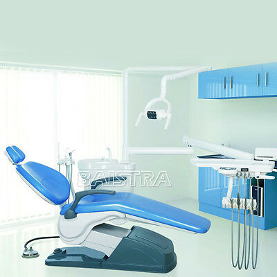 GER Dental Portable Unite Chair Hard Leather Computer Controlled Motor Handpiece