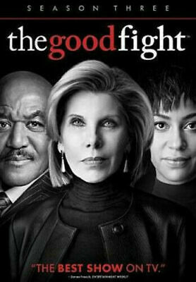 Brand New Sealed The Good Fight Complete Season 3 Three 3Rd (Dvd) Free Shipping!