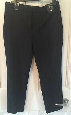 LADIES M/&S SIZES 10 OR 18 TAUPE WOOL CASHMERE SILK BLEND LINED WIDE LEG TROUSERS