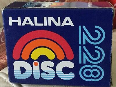 Vintage Halina Disc 228 Camera retro with box & instruction manual...collectible