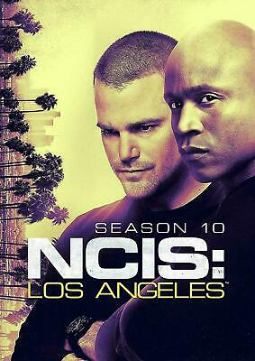 NCIS Los Angeles Season 10 DVD Complete 10th Series New Sealed