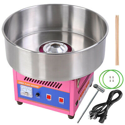1000W Electric Fairy Floss Machine Cotton Candy Sugar Maker Candy Party Home DIY