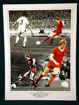David Fairclough Signed Liverpool Photograph