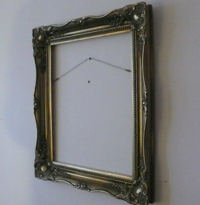 Large Sized Gold Gilt Ornate Carved Wood Wooden Picture Frame Painting Picture