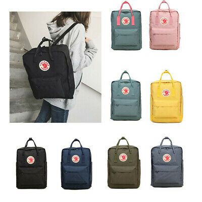 Fjallraven Re Kanken Rucksack Waterproof Sport Backpack Handbag 20L/16L/7L Bag