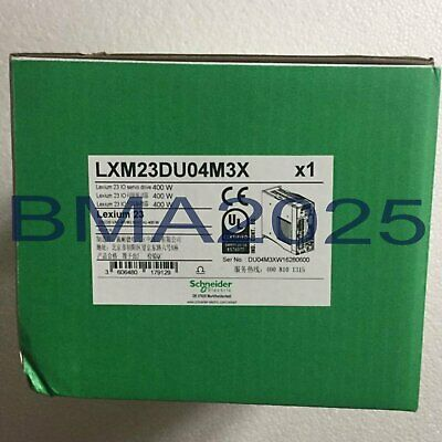 1PC New In Box Schneider servo drive LXM23DU04M3X Fast delivery