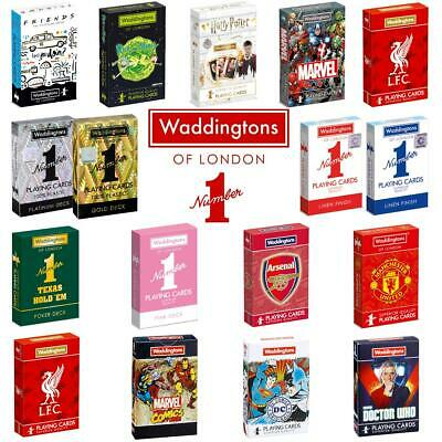 Waddingtons No.1 Playing Cards> Harry Potter> Friends> Football editions & more