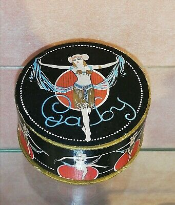 ««  GABY  »»  POWDER BOX POUDRE RIZ EARLY 20th CENTURY EXTREMELY RARE