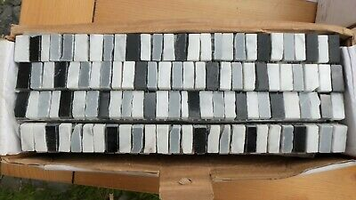 Full Box of 48 Naturalia Domino Border Tiles