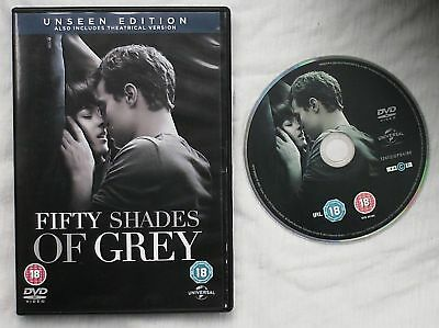 Fifty Shades of Grey Unseen Edition DVD Jamie Dornan Dakota Johnson