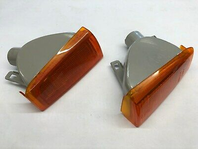 VAUXHALL CAVALIER MK2 pair of front indicator flasher lights 1984 - 1986