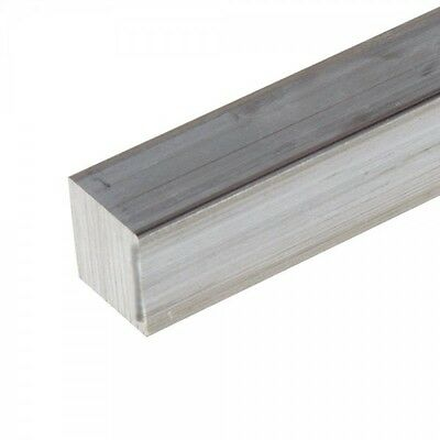 "5/8"" .625"" Aluminum 6061 Square Bar x 18"""