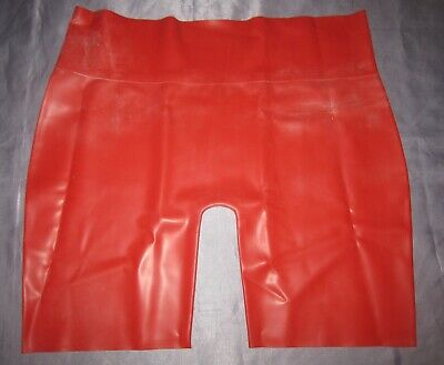 Latex Shorts, Hose, Leggins, Jeans, Gummi, Rubber Catsuit, Größe: XL