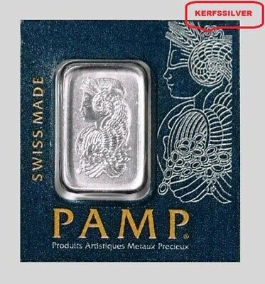 Pamp  Sussie  1  Gram   Lady  Fortuna  999.5  Platinum Bar In Assay Certificate