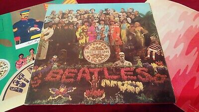 The Beatles - Sgt Peppers Lonely Hearts Club Band - Orig Uk Mono Lp With Insert