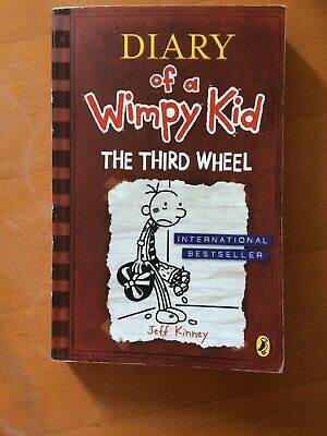 diary of a wimpy kid books The Third Wheel Very Good Condition