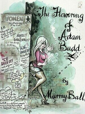 The Flowering Of Adam Budd  By Murray Ball'  'Fine'