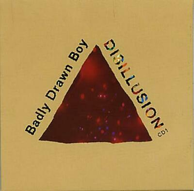 Badly Drawn Boy Disillusion 2-CD single (Double CD single) UK TNXL005CD/2